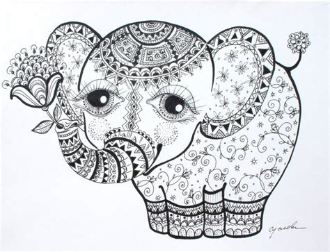 elephant zentangle tattoo if i were to get a tattoo paisley elephant in the tall