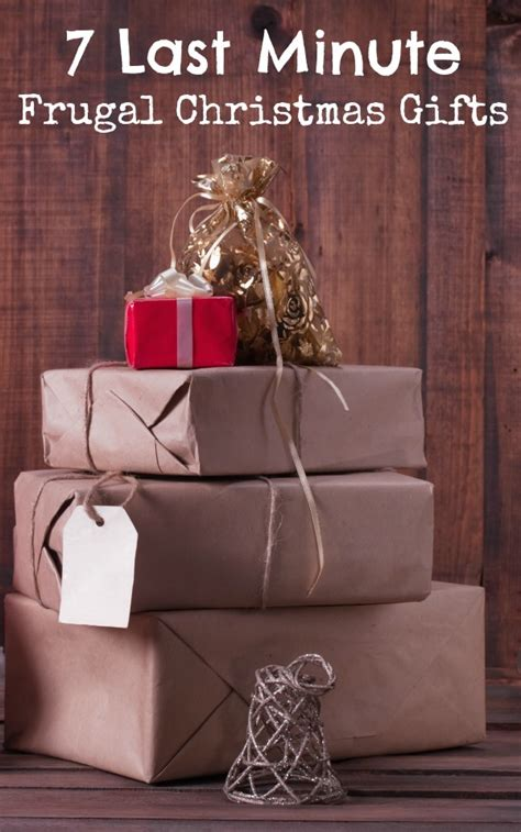 7 last minute frugal christmas gifts