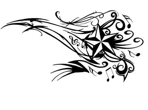 musical tribal tattoo designs differentstrokesfromdifferentfolks notes designs