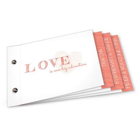 Hochzeitseinladung Booklet by Schlichte Hochzeitseinladung Mit Daumenabdruck