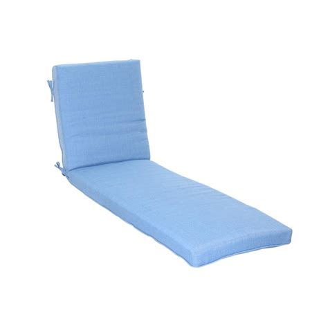 outdoor chaise lounge cushion tealwhite hton bay pembrey replacement outdoor chaise lounge