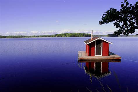 wasser entkalken haus haus im wasser foto bild europe scandinavia sweden