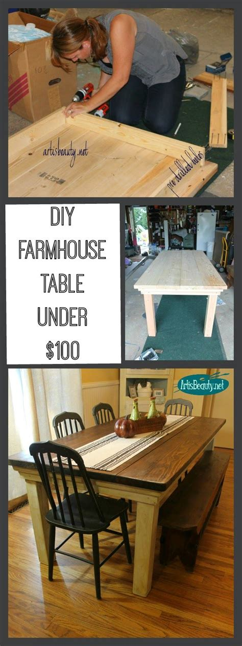 build your own farmhouse table 17 best ideas about bench kitchen tables on