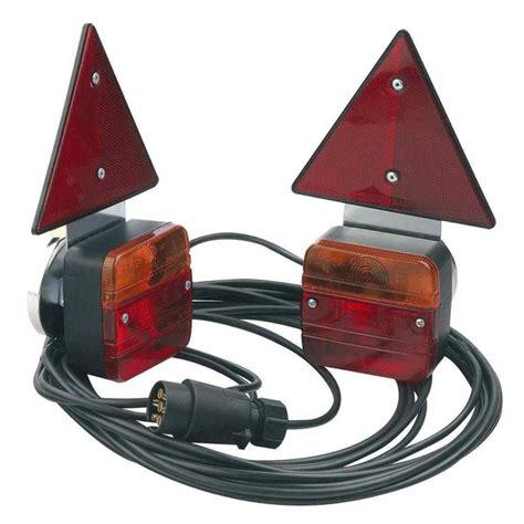 kit eclairage remorque kit 233 clairage remorque magn 233 tique 7 5m entre feux 4m