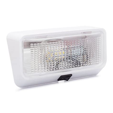 rv exterior light lenses lumitronics led rv exterior porch light with on off switch
