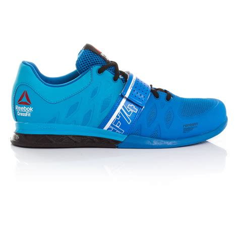 reebok mens sports shoes reebok crossfit lifter 2 mens blue weightlifting sports