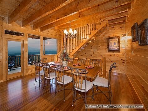 pigeon forge cabin mt leconte view 5 bedroom sleeps