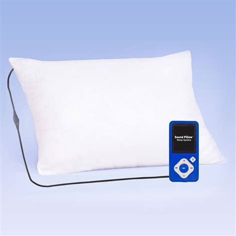 Noise Pillow by 1 Sleep System Soundpillow Soundpillow