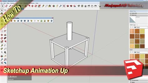 tutorial sketchup animation animation up with animate section plugins sketchup