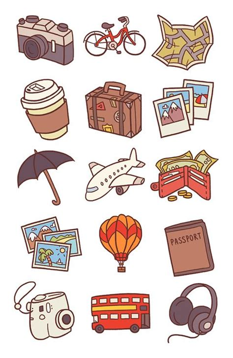 Wallpaper Sticker Travel 69 best stickers images on
