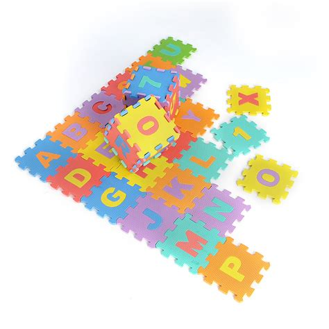 Foam Floor Alphabet And Number Puzzle Mat by 2 36pcs Large Educational Foam Alphabet Letters