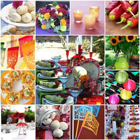 Mexican Wedding Centerpieces   mexican wedding decorations
