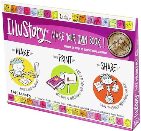 create your own picture book illustory make your own book kit a mighty