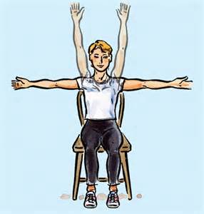 In Chair Exercises every every day how to get fit vantage point