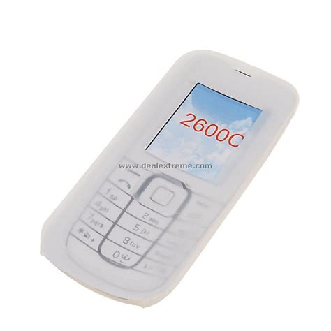 Casing Nokia 2600c 2600 Classic silicone for nokia 2600c 2 pack free shipping