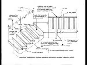 stair deck railing height stair railing height on deck