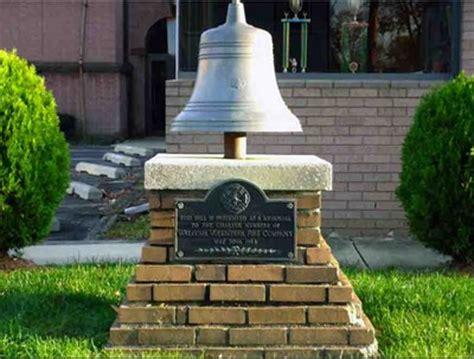memorial bell @ oaklyn fire department oaklyn, nj