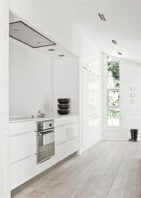minimal modern kitchen design idea white modern and minimalist