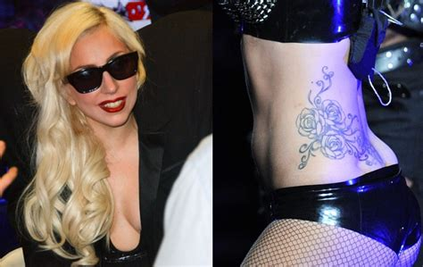lady gaga female celebrity tattoos tattoo love