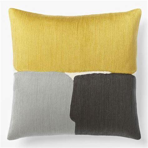 west elm pillows steven alan abstract crewel pillow cover golden gate west elm
