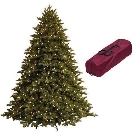 artificial christmas tree 5 7 5ft tall spruce metal stand 7 5 ft just cut norway spruce ez light artificial