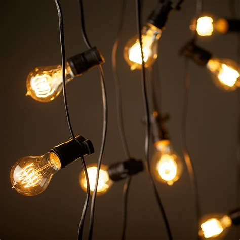 american vintage style string lights vintage edison party lighting string lights 240v 20m with