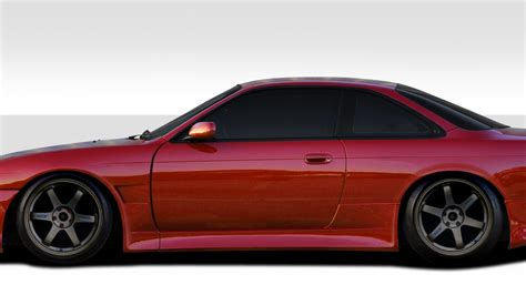 nissan 240sx widebody nissan 240sx v speed wide body skirts 95 96 97 98 by