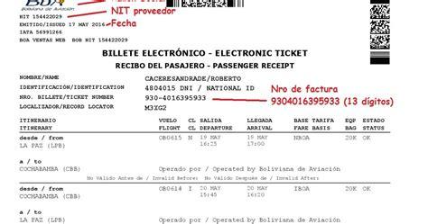 llenado de facturas en el form 110 v3 aplicativo facilito boleto de llenado de avi 243 n form 110