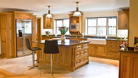 Handmade Oak Kitchens - s kitchens bespoke kitchens and