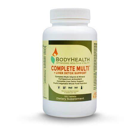 Bodyhealth Complete Multi Liver Detox by Health Complete Multi Liver Detox Support 120 Tablets