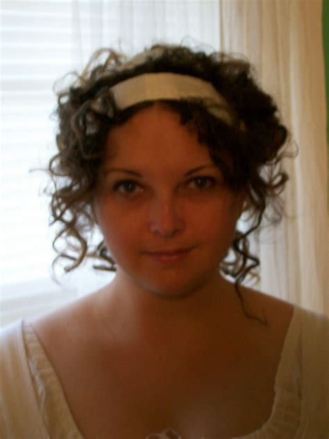 regency hair styles for long hair regency hairstyle with ribbon costume tutorials