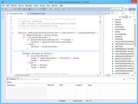configure xp with eclipse pdt eclipse pdt php ohjelmointi kehitysty 246 kalut ohjelmat