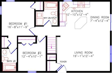 30x40 house floor plans cabin house floor plan 30x40 floorplans pinterest
