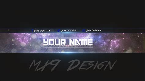 Youtube Banner Wallpaper 90 Images Channel Banner Template