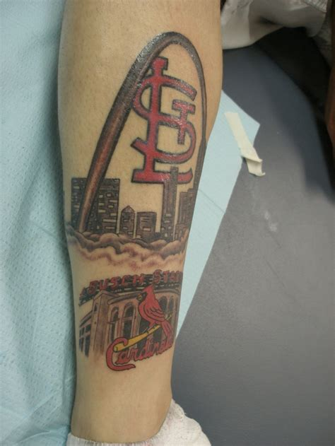 st tattoo st louis cardinals tattoos ideas center