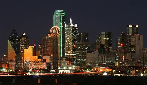 brownsville tx jobs dallas skyline the skyline of dallas tx as viewed from