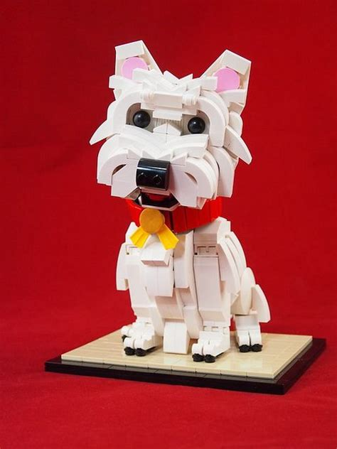 lego puppy 17 best ideas about white terrier on west terrier westie puppies and west
