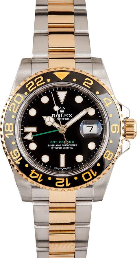 Rolex Gmt Master Ll Ceramic Two Tone rolex gmt ii ceramic bezel best deals offered at bob s watches