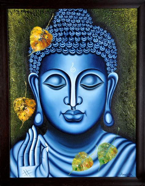 Best 25 Buddha Painting Ideas Buy Painting Lord Buddha Painting Artwork No 5997 By