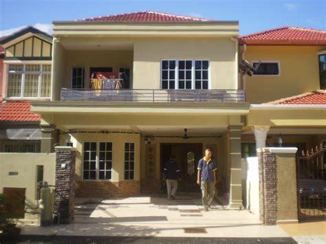 Decoration Rumah Teres by Contoh Design Rumah Teres 2 Tingkat Cahaya Rumahku