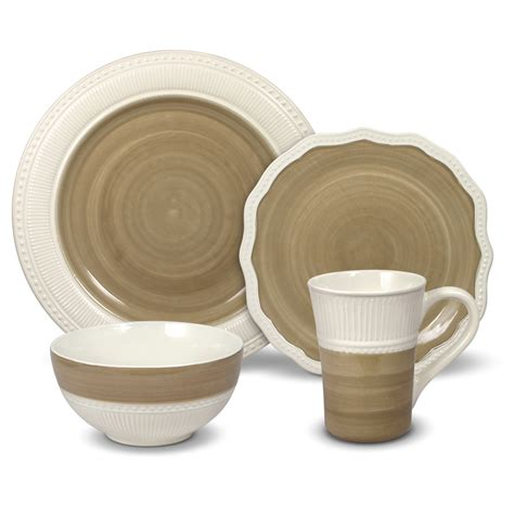 gourmet basics by mikasa magnolia 32 dinnerware set