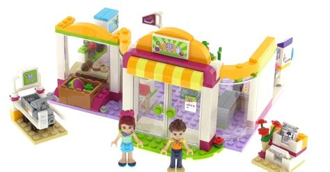 Lego 41118 Friends Heartlake Supermarket 1 lego friends heartlake supermarket review set 41118
