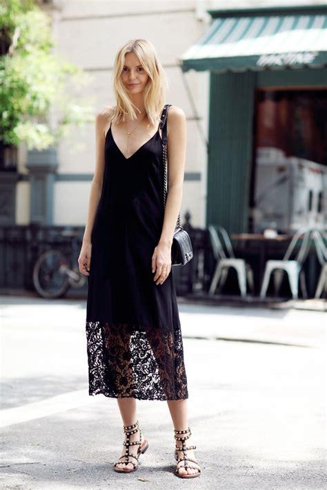 style  slip dress  daywear glam radar