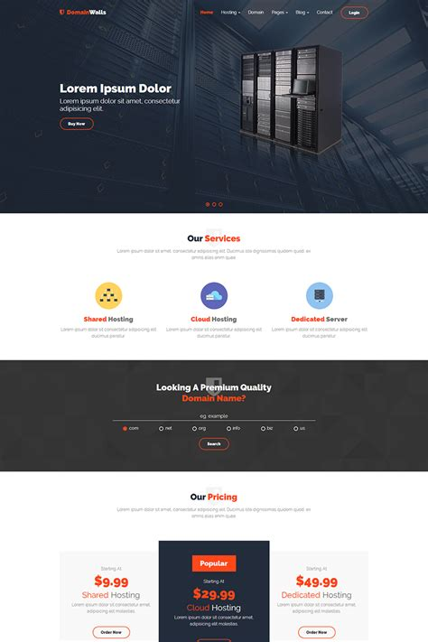 canadahost responsive html5 web hosting and whmcs