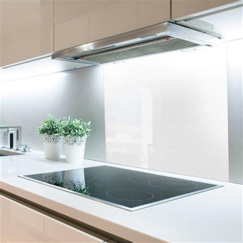 Bunnings Splashbacks For Kitchens by Stein 600mm White Glass Splashback Bunnings Warehouse