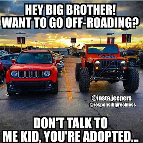 Jeep Wrangler Meme - i love 4x4 and photos on pinterest