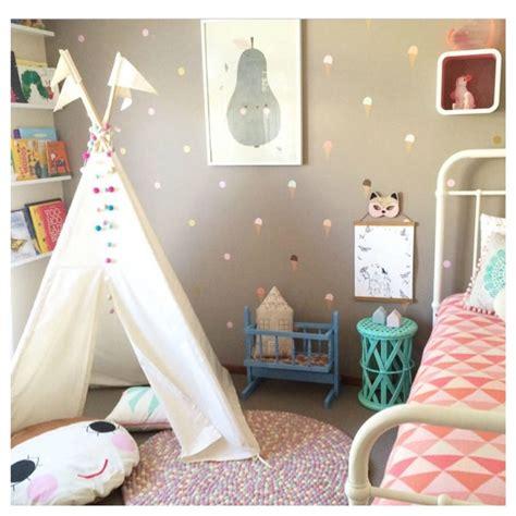 kids bedroom teepee indoor play teepee midi size by moozle