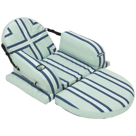 inflatable recliner sevylor 174 3 position inflatable pool recliner chair