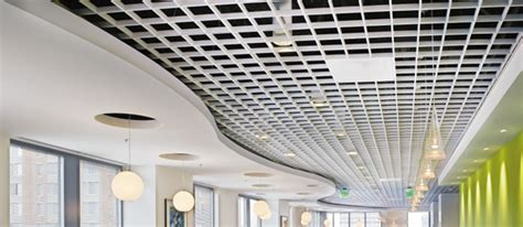 Armstrong Ceiling Grid by Metalworks Open Cell Commercial Interiors