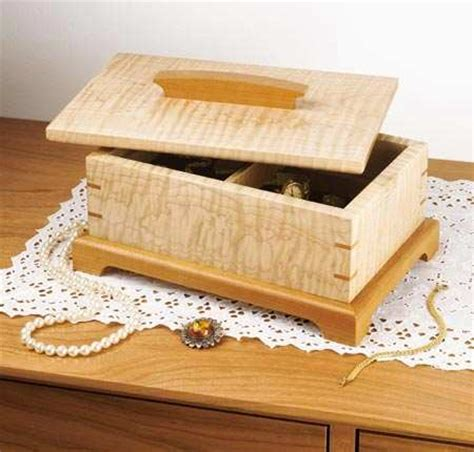 secret compartment jewelry box woodworking plan